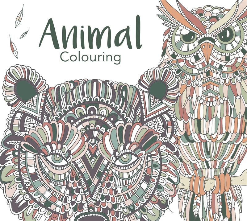 Colours by CPH - Animal Colouring