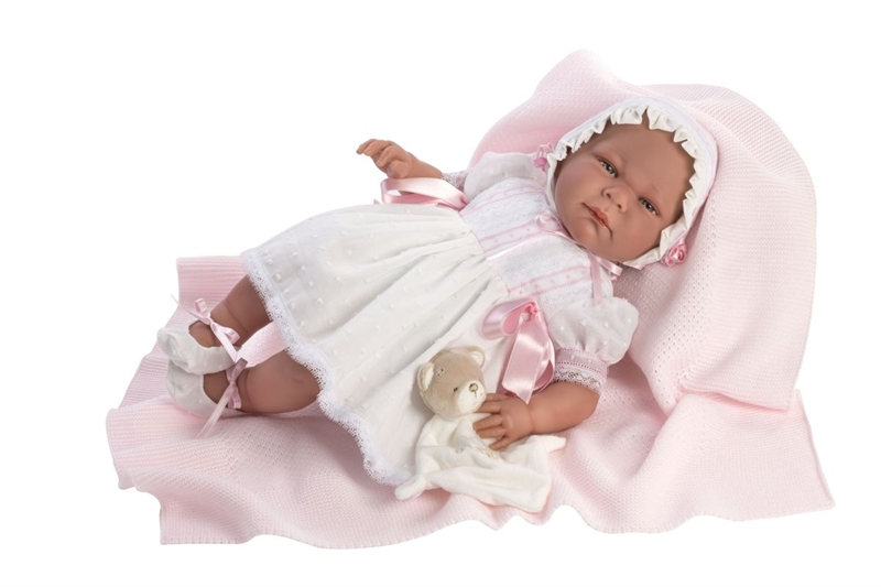 ASI - Limited edition Babydukke pige Claudia - 46 cm