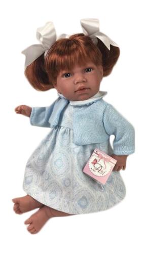 dukke med hår