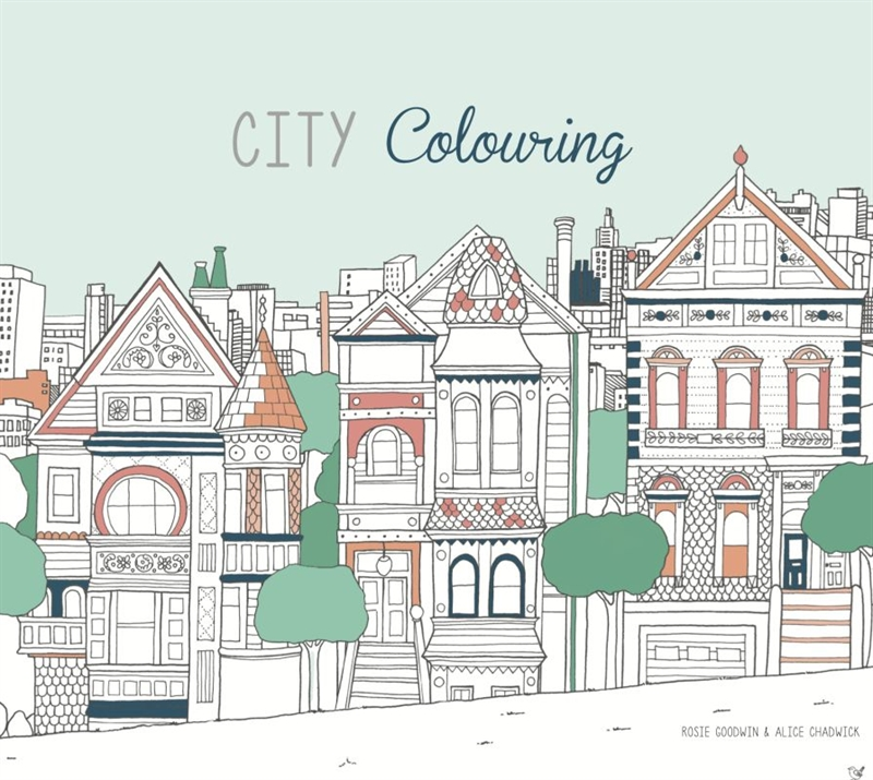 Colours by CPH - City Colouring