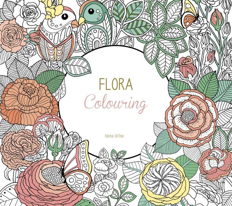 Colours by CPH - Flora Colouring