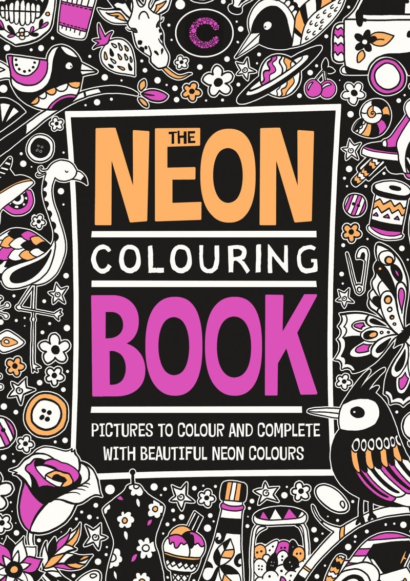 Colours by CPH - Neon Colouring book