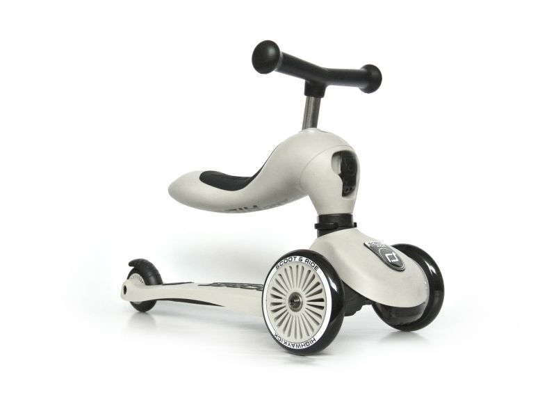 Scoot and Ride - Highwaykick 1 - Aske - 2-i-1 scooter og løbehjul