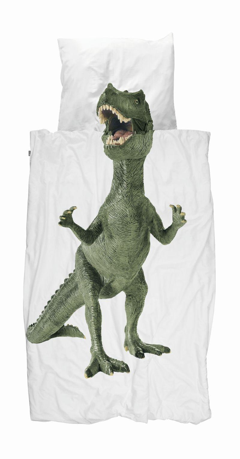 Snurk Sengetoj 140 X 200 Cm Dinosaur