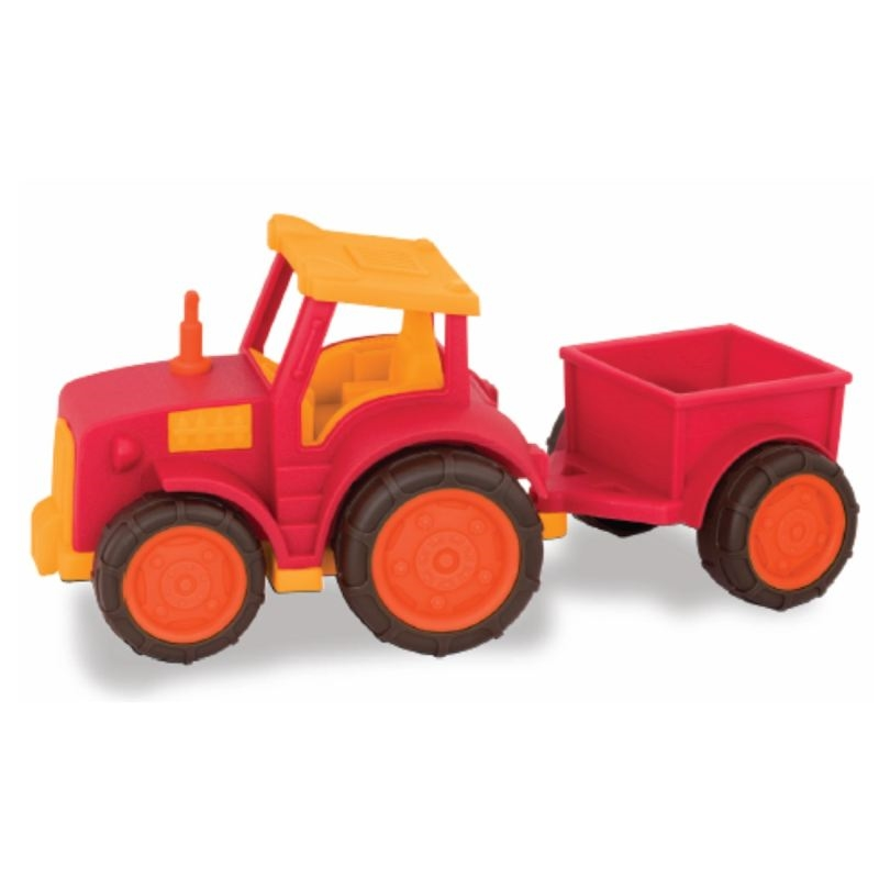 Wonder Wheels Traktor med vogn